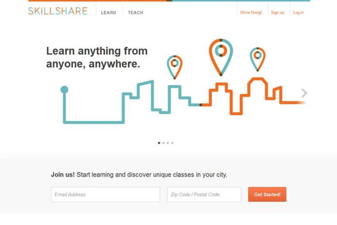 แชร์ประสบการณ์ลงคอร์สเรียน Skillshare.com เพื่อแปลงทักษะให้เป็นเงิน