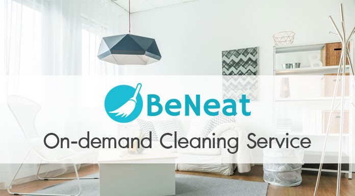 BeNeat บริการทำความสะอาดที่พักออนดีมานด์แนวคิด Sharing Economy