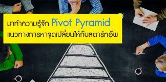 มาทำความรู้จัก Pivot Pyramid แนวทางการหาจุดเปลี่ยนให้กับสตาร์ทอัพ